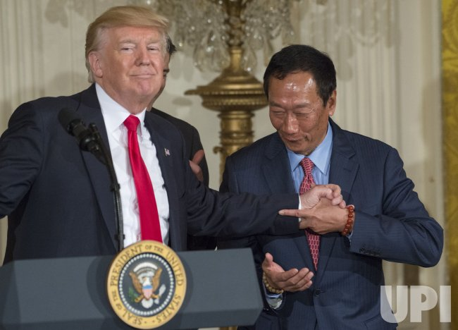 President Trump Announces Foxconn Investment in Wisconsin
