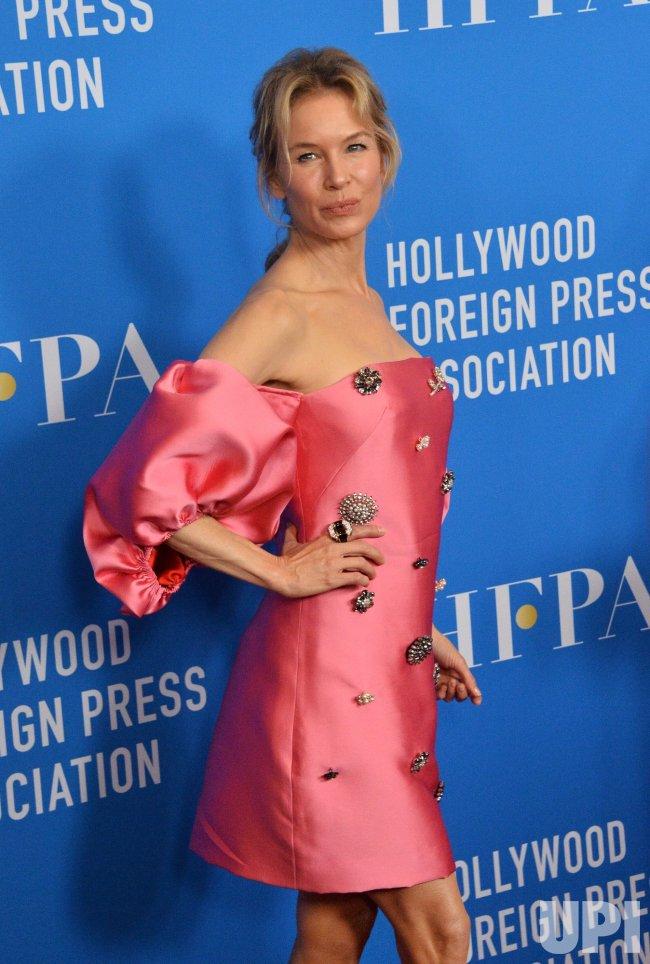 Renee Zellweger attends HFPA grants banquet in Beverly Hills