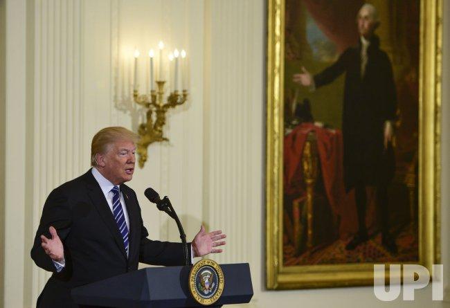 President Trump speaks during Prison Reform Summit