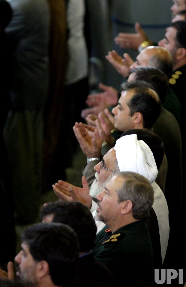 FRIDAY PRAYERS IN IRAN