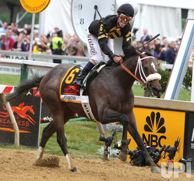 138th Preakness Stakes in Baltimore, Maryland
