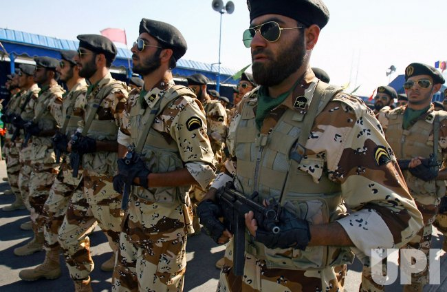 Iran Military Forces Parade During Iran's Defence Week