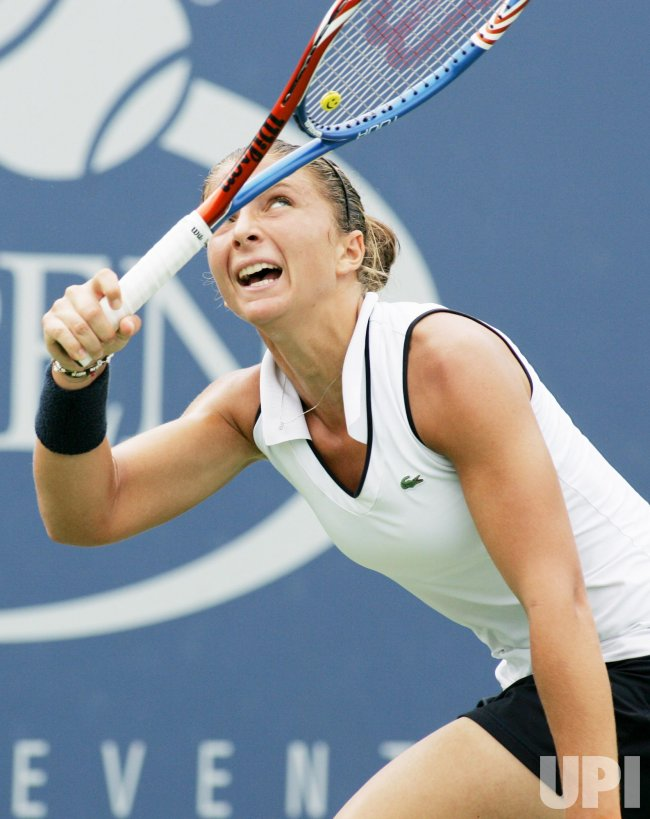 Samantha Stosur and Sara Errani compete at the U.S. Open in New York