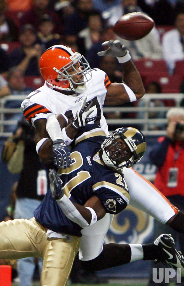 Cleveland Browns vs St. Louis Rams