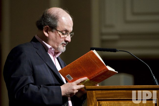 Salman Rushdie reads in Washington