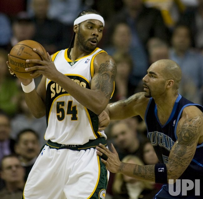Utah Jazz vs Seattle SuperSonics