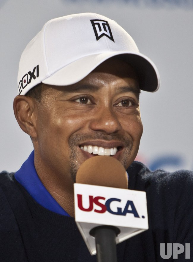 Tiger Woods talks about the U.S. Open in San Francisco