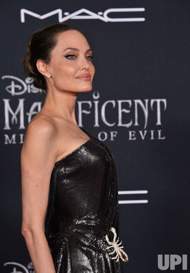 Angelina Jolie Attends Maleficent Mistress Of Evil