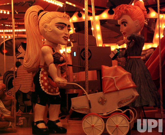 Unique carousel celebrating celebrities and events of this century unveiled