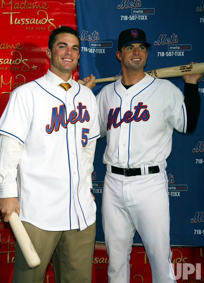 DAVID WRIGHT WAX FIGURE AT MADAME TUSSAUDS IN NEW YORK