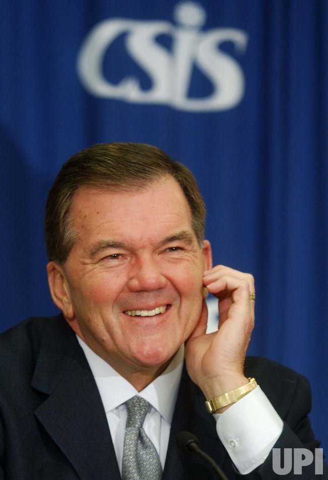 TOM RIDGE SPEAKS AT CSIS
