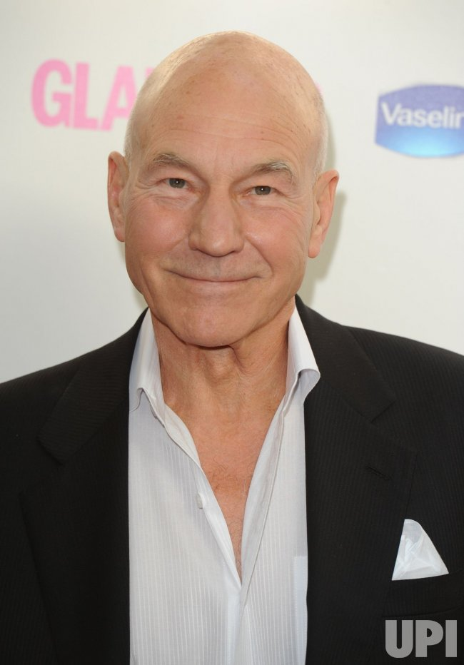 "Patrick Stewart attends ""The Glamour Awards"" in London"