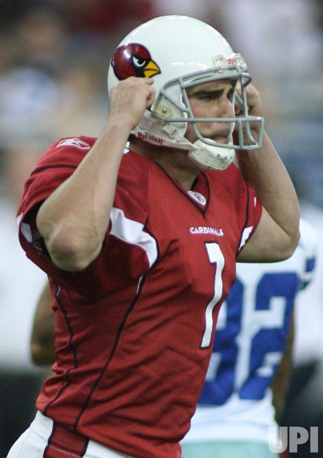 NFL Dallas Cowboys at Arizona Cardinals, Glendale, Arizona