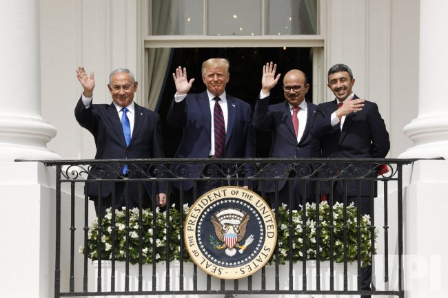 President Trump hosts Israel and the UAE for the Abraham Accords Signing in Washington, DC