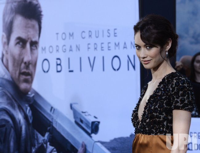 "Olga Kurylenko attends the ""Oblivion"" premiere in Los Angeles"