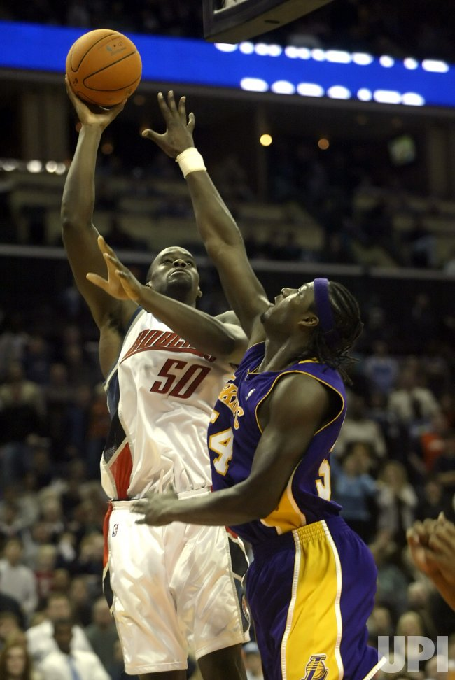 CHARLOTTE BOBCATS VS LOS ANGELES LAKERS