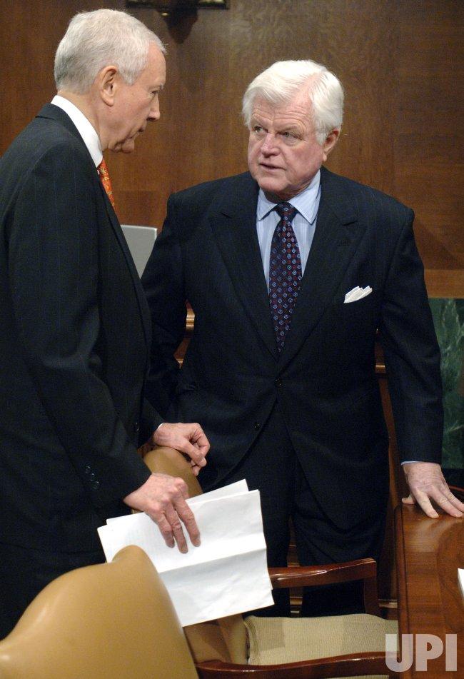 SENATE JUDICIARY COMMITTEE VOTE ON ALITO