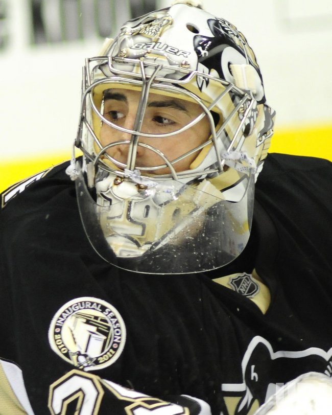 Penguins Goalie Marc-Andre Fleury Records Shutout in Pittsburgh