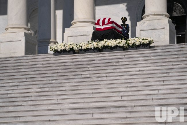 John Lewis Lies in State at US Capitol