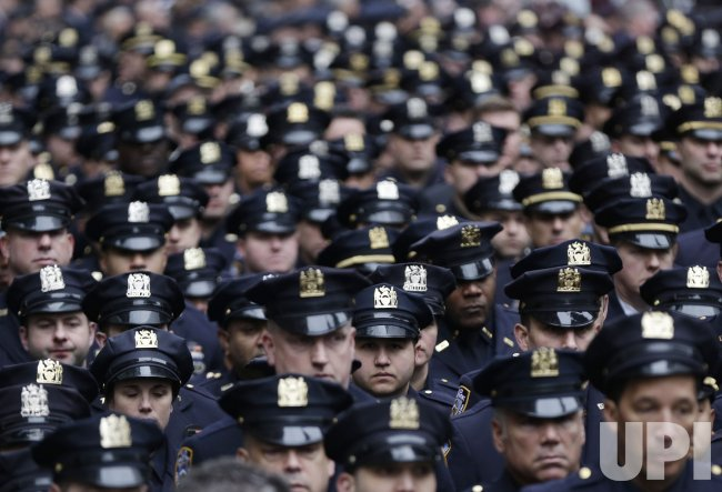 Funeral for NYPD Detective Killed in Afghanistan - UPI com