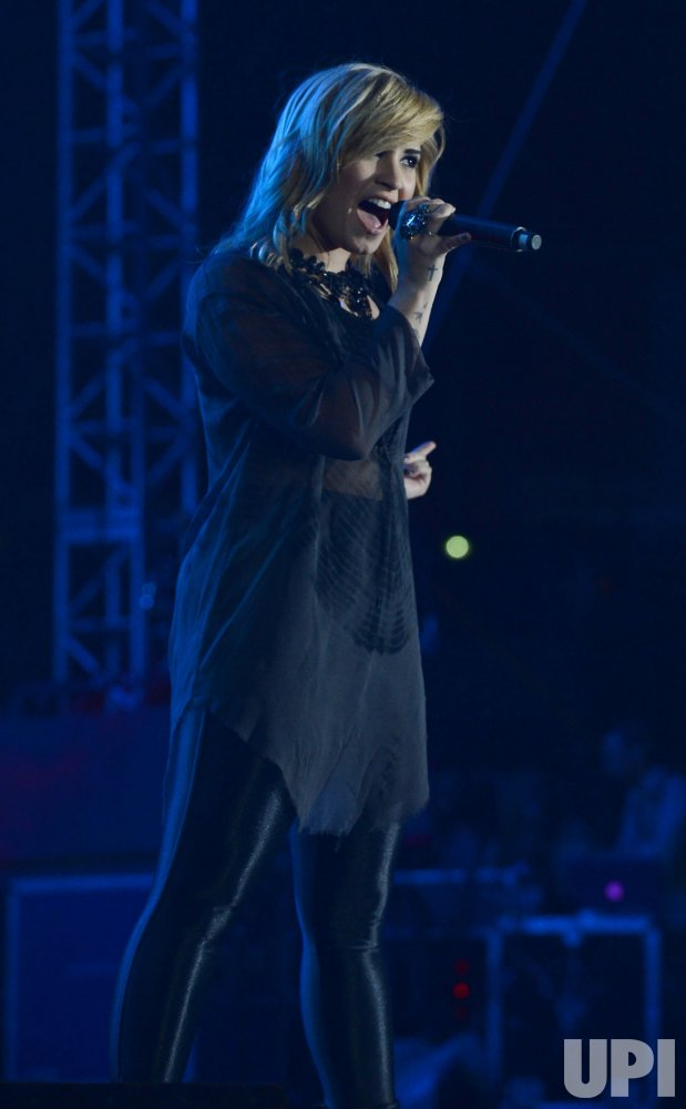 Demi Lovato performs at KIIS FM's Wango Tango 2013 in Carson, California