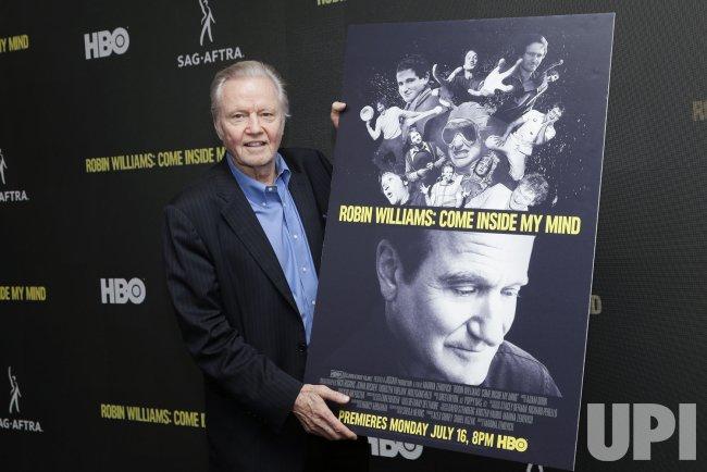 a8f60561 Jon Voight at HBO's 'Robin Williams: Come Inside My Mind' - UPI.com
