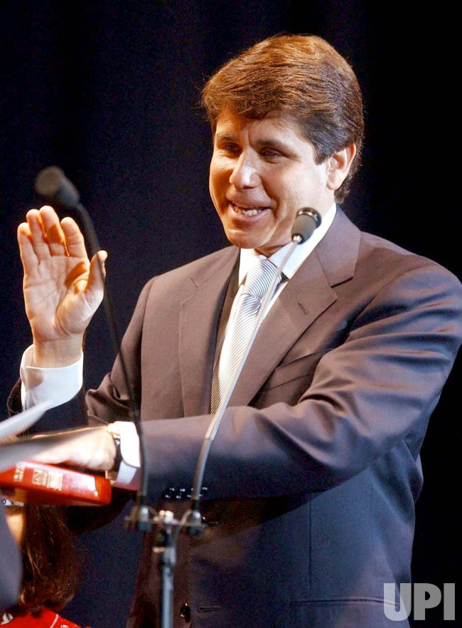 Rod Blagojevich becomes 40th Gov. of State of Illinois