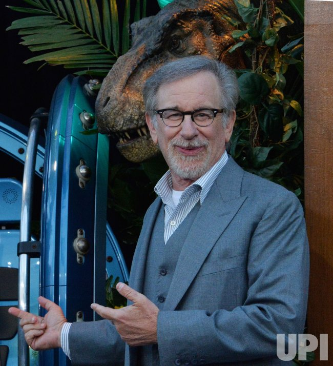 """Steven Spielberg attends the """"Jurassic World: Fallen Kingdom"""" premiere in Los Angeles"""