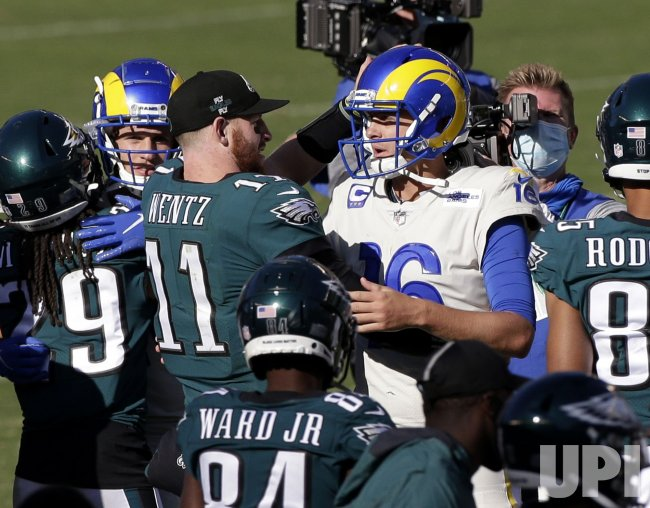 Philadelphia Eagles vs Los Angeles Rams in Philadelphia