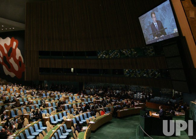 General Assembly is held at the United Nations in New York
