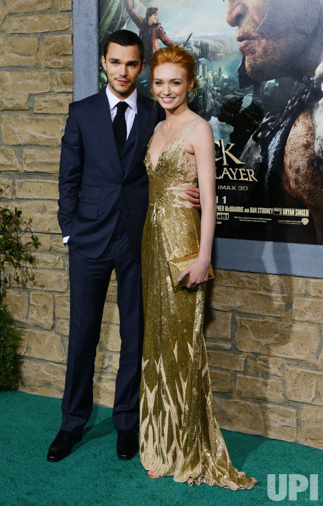 "Nicholas Hoult and Eleanor Tomlinson attends ""Jack the Giant Slayer"" premiere in Los Angeles"