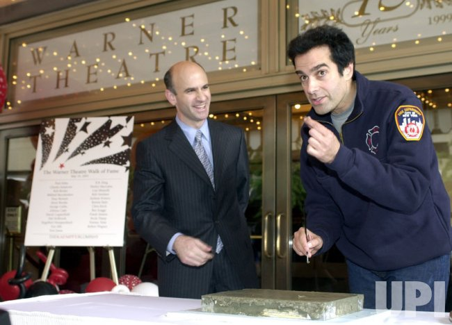 Copperfield Gets Star on Warner Theatre Walk of Fame