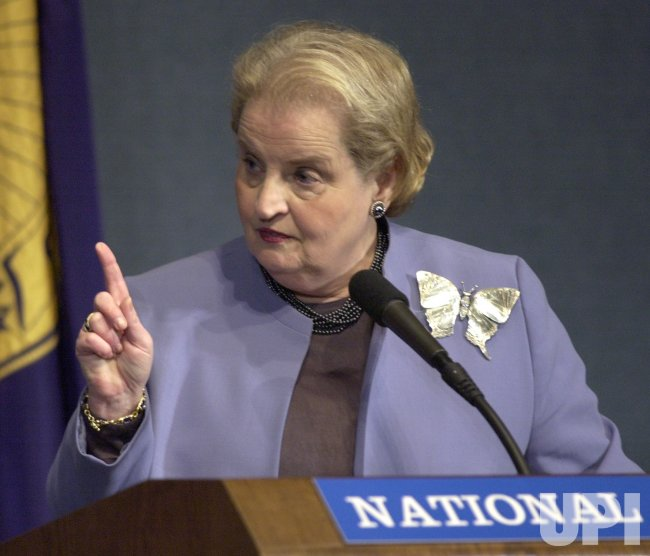 Madeleine Albright at National Press Club