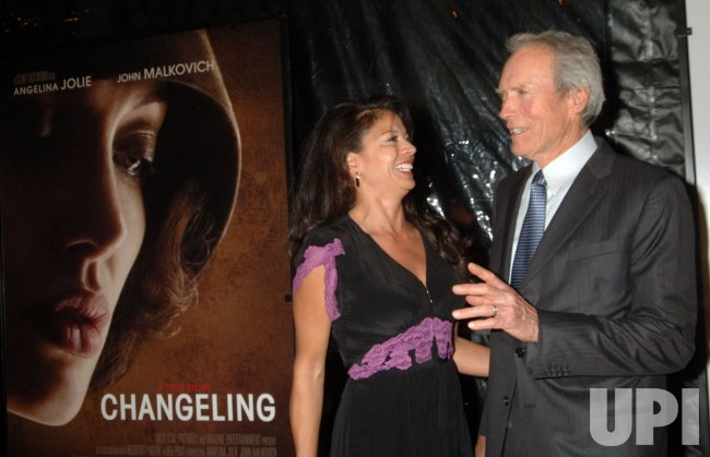 "Director Clint Eastwood attends premiere for his new film ""Changeling"" in New York"