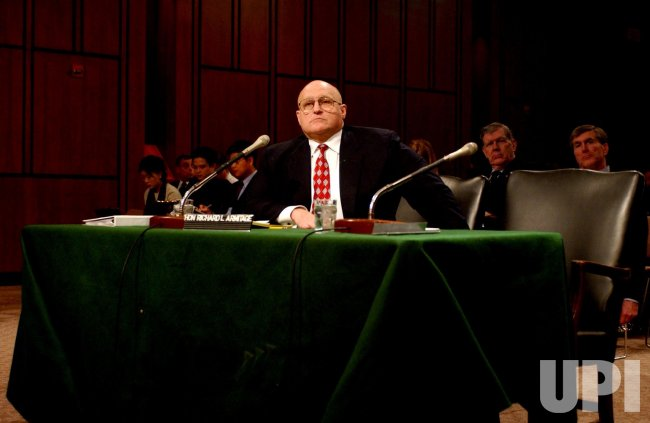 Armitage testifies on N. Korean threat
