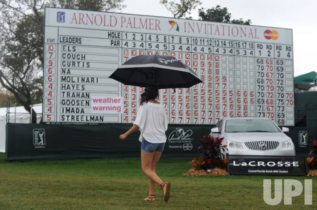 Rain Delay at the Arnold Palmer Invitational in Orlando