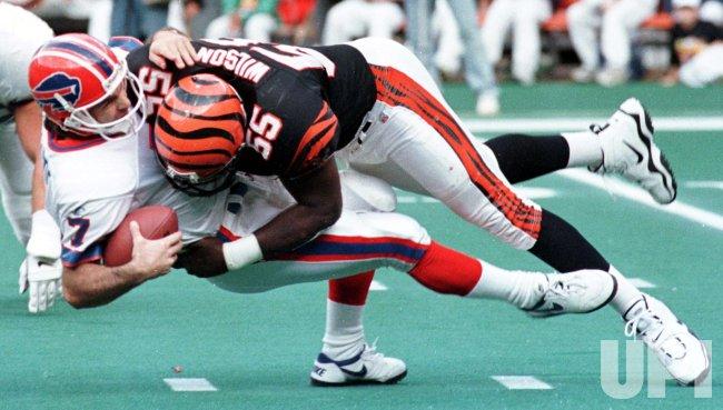 Bills' quarterback, Doug Flutie