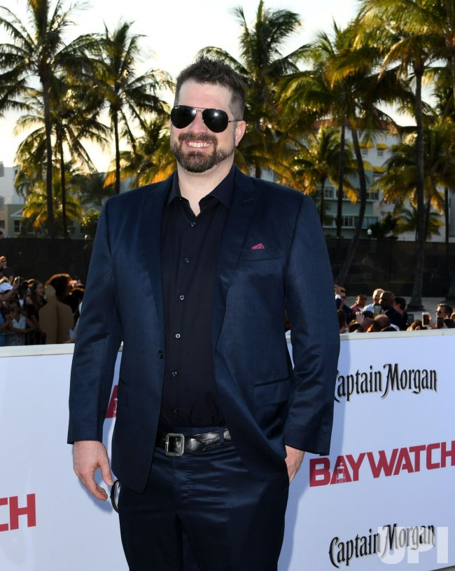 Seth Gordon Attends the US Premiere of Baywatch in Miami Beach Florida