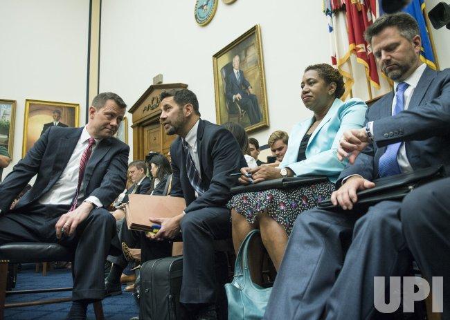 Peter Strzok, FBI Deputy Assistant Director testifies, on Capitol Hill