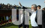 PALESTINIAN PRIME MINISTER ISMAIL HANIYEH JOINS A LOCAL FOOTBALL