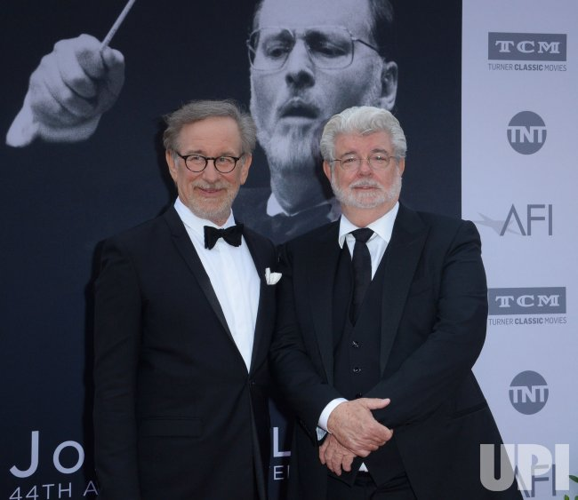 Steven Spilberg and George Lucas attend AFI tribute to