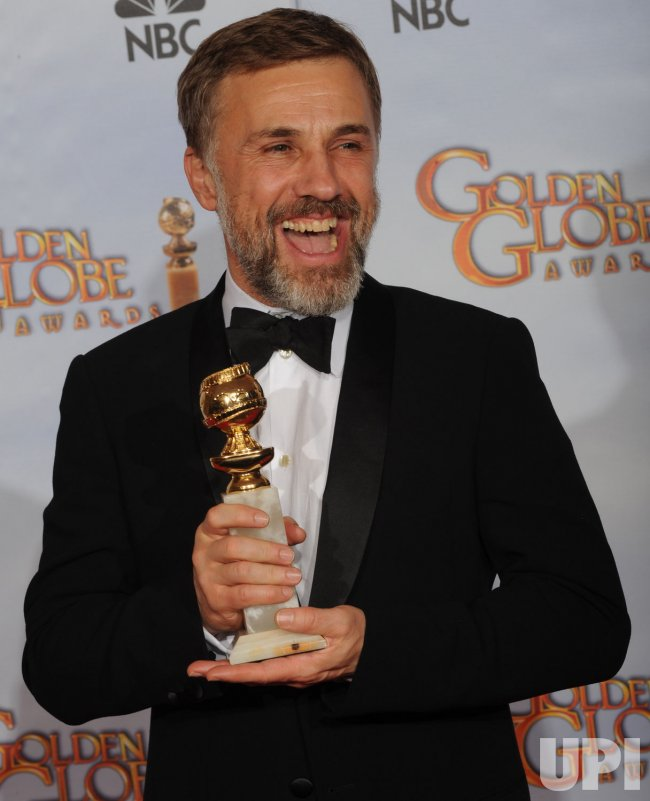 Christoph Waltz wins Supporting Actor at the 67th annual Golden Globe Awards