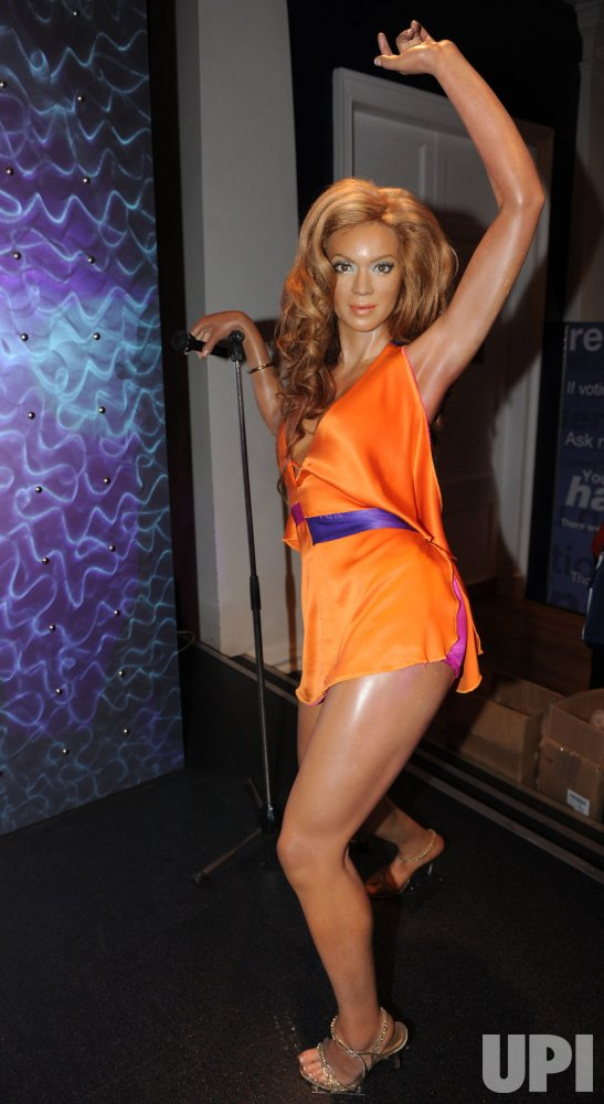Beyonce Knowles waxwork in London
