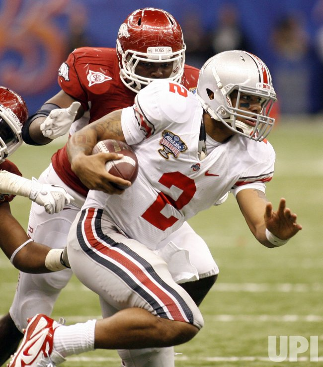 77th Annual Allstate Sugar Bowl Football Classic featuring Arkansas and Ohio State
