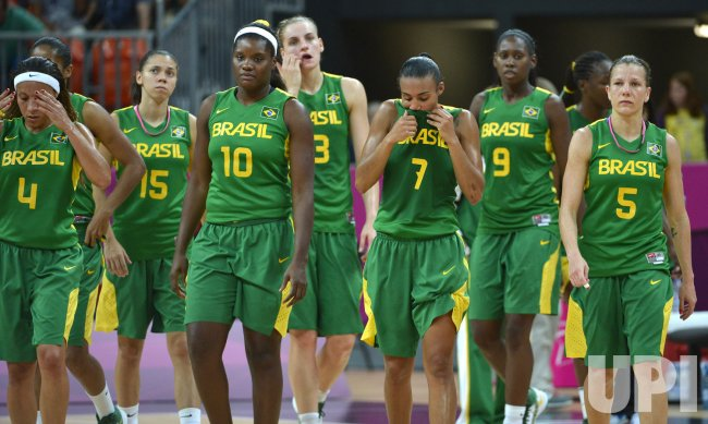 Australia-Brazil women's basketball at 2012 Summer Olympics in London