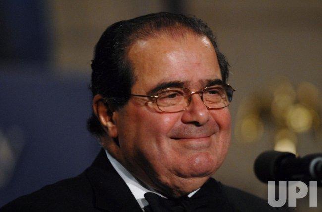 Supreme Court Justice Scalia speaks at Federalist Society Gala in Washington
