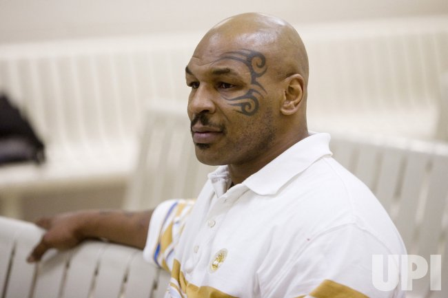 MIKE TYSON APPEARS IN COURT FOR DRUG POSSESSION CHARGES
