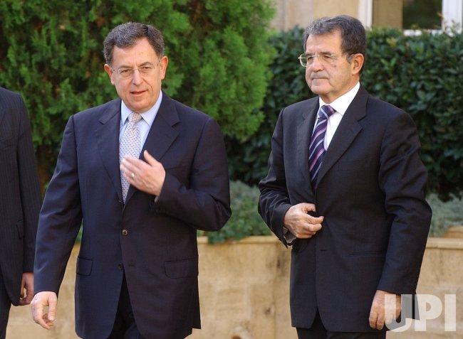 ITALIAN PRIME MINISTER IN LEBANON TO BOOST MORAL