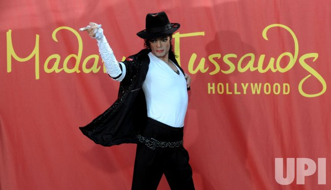 Michael Jackson's wax figure unveiled at Madame Tussauds in Hollywood