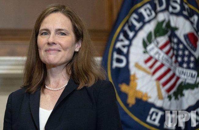 Supreme Court Nominee Amy Coney Barrett Participates in a Meet and Greet with Senators